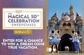 Walt Disney World Resort 50th Celebration Contest