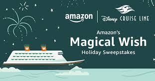 Amazon Magical Wish Holiday Sweepstakes